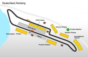 Norisring map