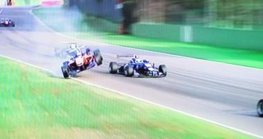 Video: Felix's Imola crash