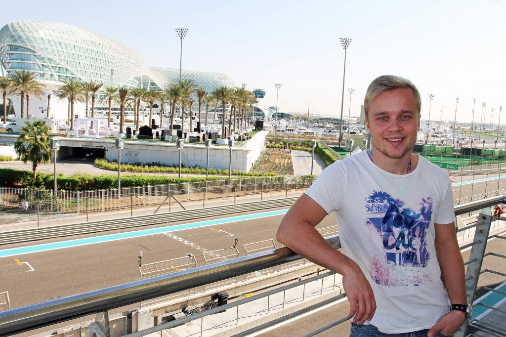Felix Rosenqvist, Abu Dhabi