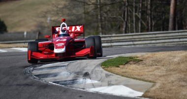 Felix Rosenqvist står över Indy Lights-race
