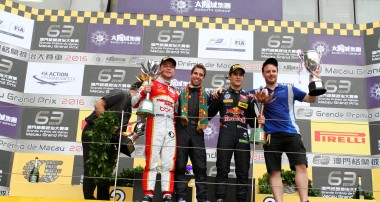 Silver för Felix Rosenqvist i Formel 3-VM i Macau