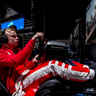 Buenos Aires prep work: join Felix and Nick at the Mahindra Racing simulator