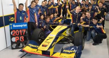 Felix Rosenqvist totaltrea under debutsäsongen i Japan
