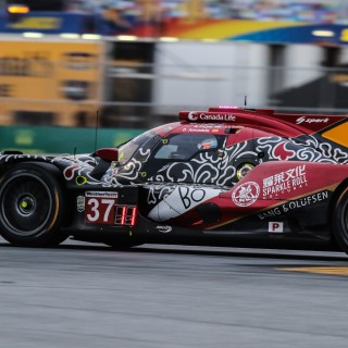 Felix Rosenqvist takes the chequered flag in record-breaking Daytona 24 Hours