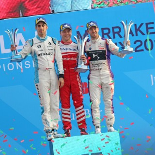 Felix Rosenqvist claims Formula E points lead with Marrakesh win