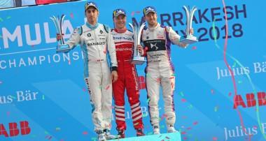 Felix Rosenqvist ny totalledare i Formel E efter seger i Marrakesh