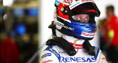 Tekniska problem tvingar Felix Rosenqvist att bryta i ledning i Mexiko
