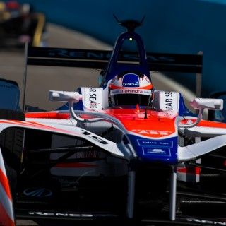 Felix Rosenqvist retains second overall in Formula E at half time