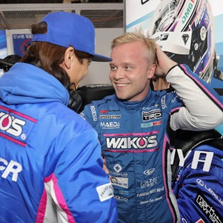 Felix Rosenqvist fractions from the podium on Super GT debut