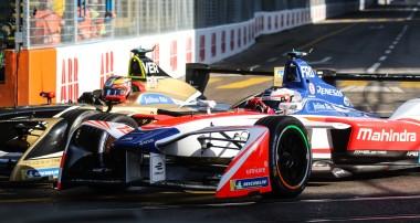 Clash derails Felix Rosenqvist's Zürich E-Prix