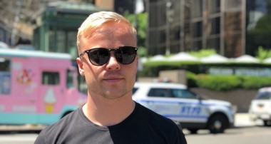 Felix Rosenqvist in top three contention at New York Formula E finale