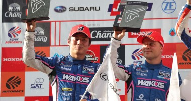 Felix Rosenqvist performs fightback charge to seal maiden Super GT podium