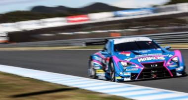 Felix Rosenqvist sexa i Super GT-finalen
