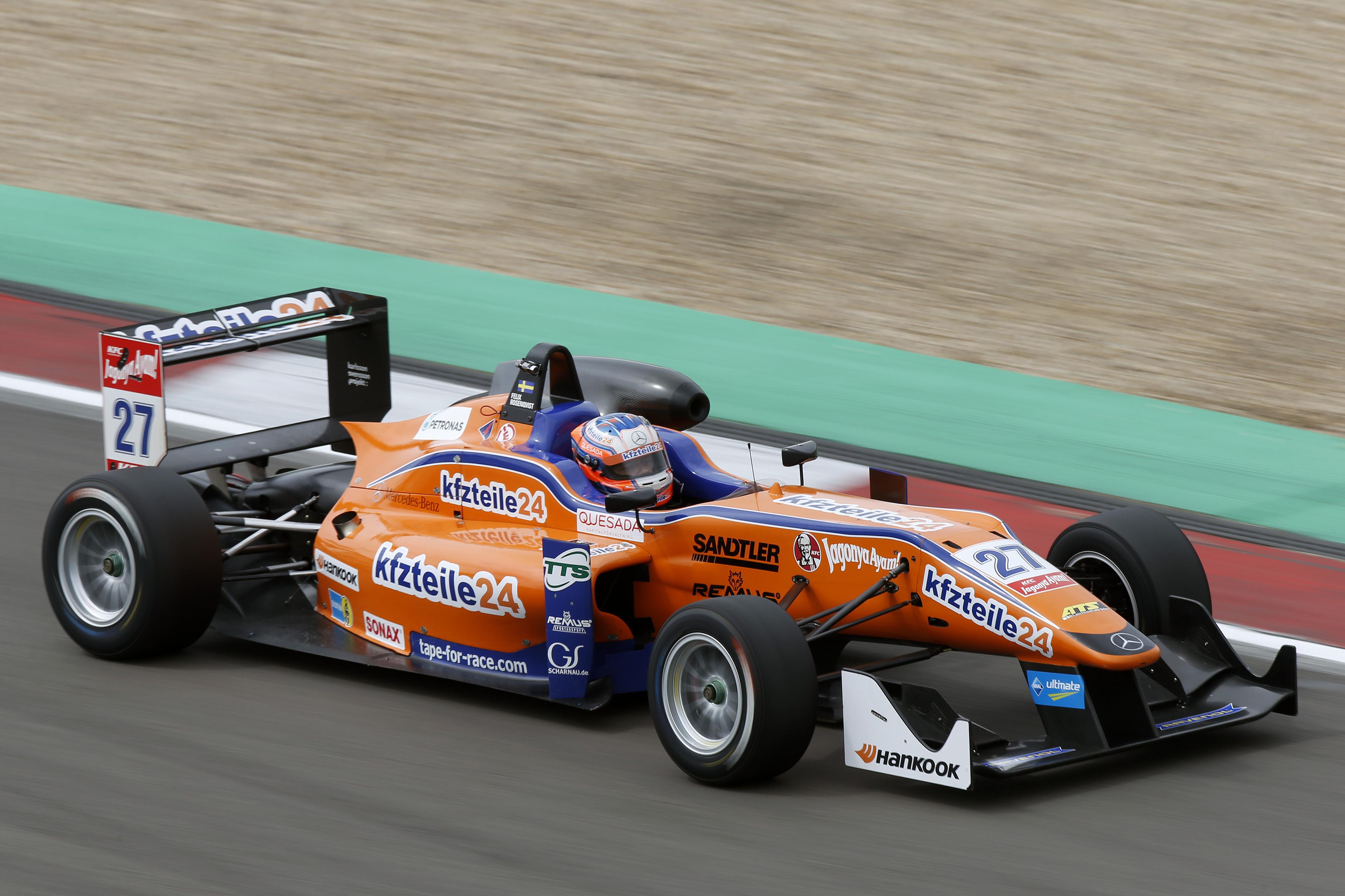 FIA Formula 3 European Championship, round 9, Nürburgring (GER)