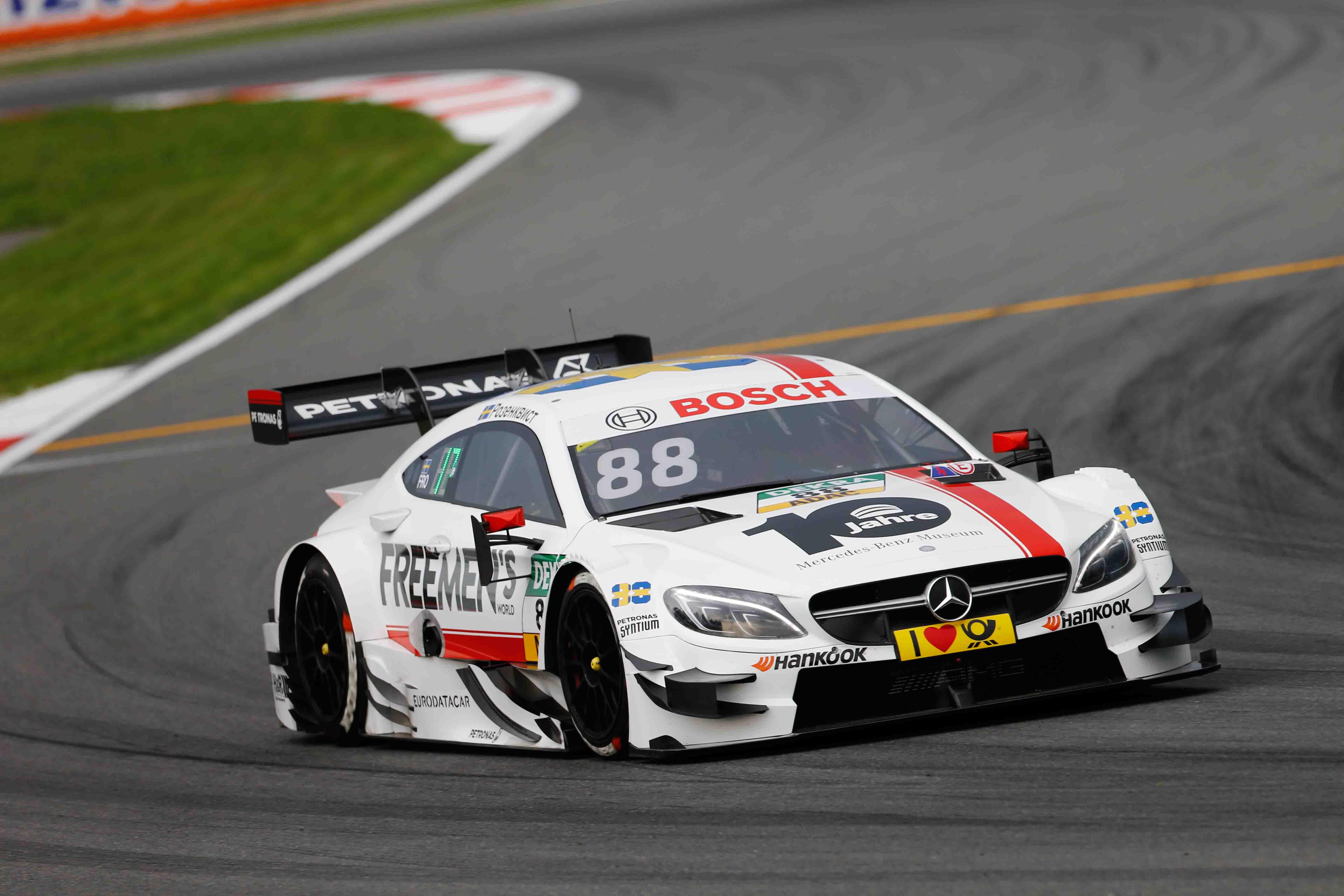 Felix Rosenqvist, Moscow Raceway 1