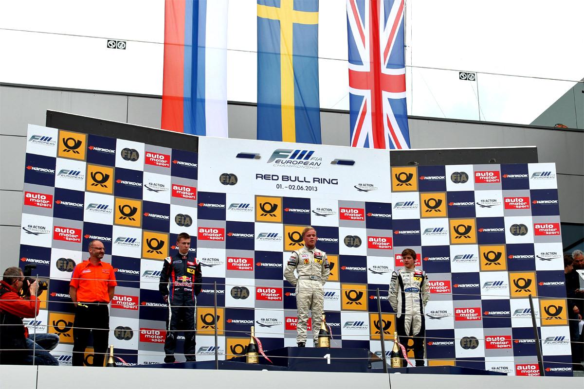 Felix Rosenqvist, Red Bull Ring 6
