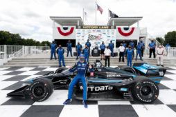First INDYCAR victory